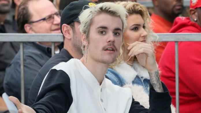 Il cantante americano Justin Bieber