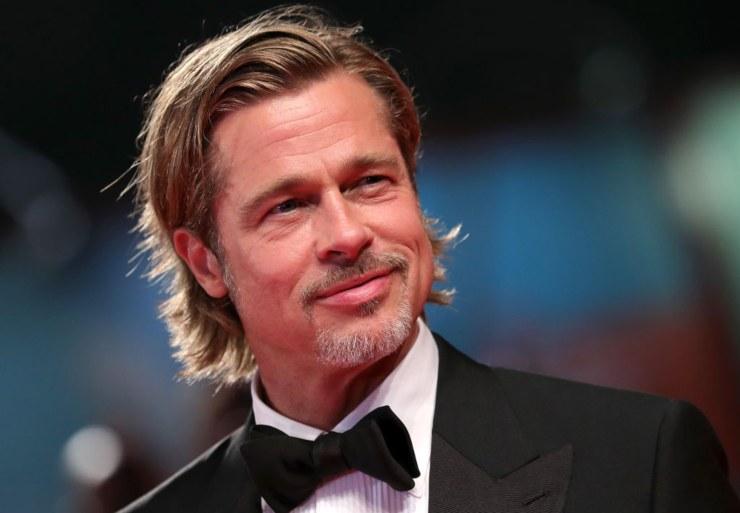 Il noto attore Brad Pitt