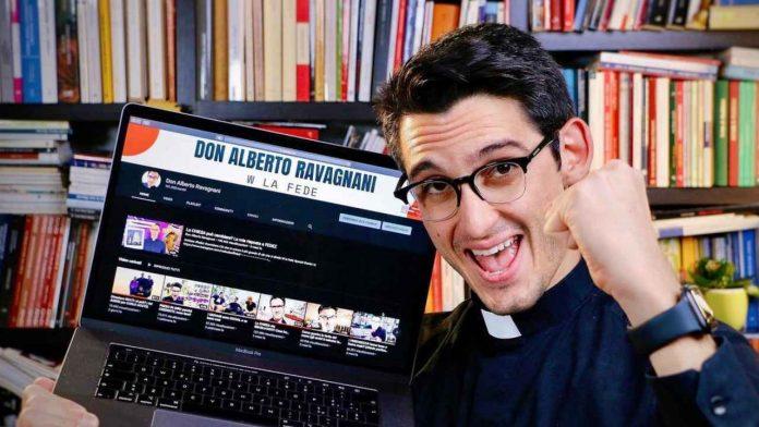 Il prete Don Alberto Ravagnani