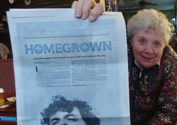 Harlow foto della nonna. Fonte: Instagram