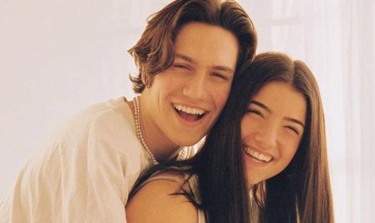 Chase Hudson e Charli D'Amelio. Fonte: Social