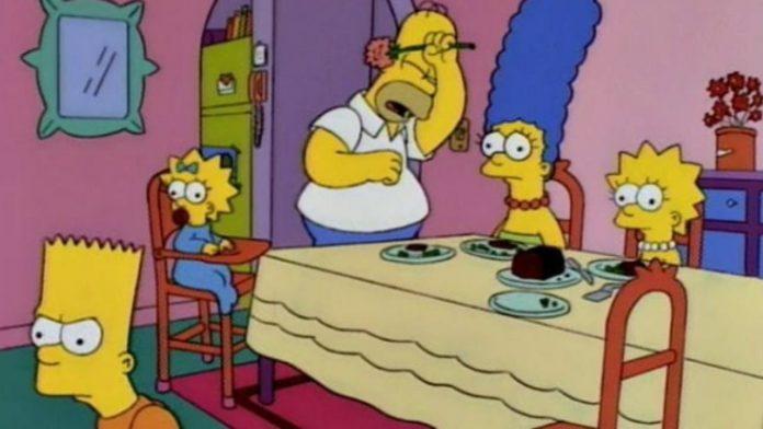 I Simpson. Fonte: instagram