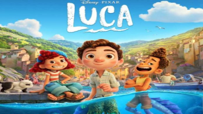 Luca Pixar Cartone. Fonte: Instagram