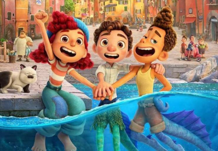 Cartone animato Pixar. Fonte: Instagram