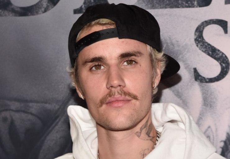 La pop star Justin Bieber