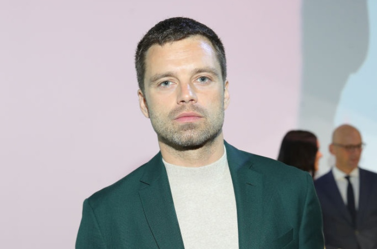 L'attore Sebastian Stan