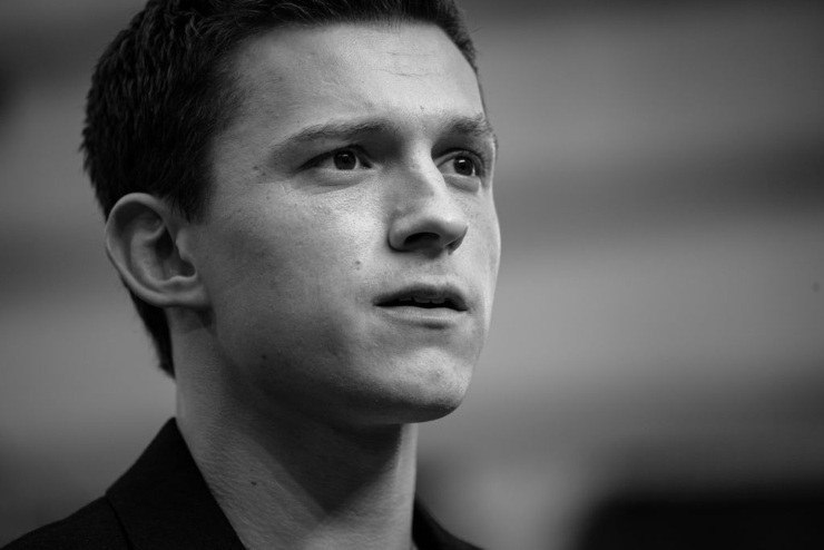 L'attore inglese Tom Holland