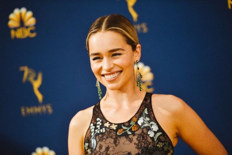 L'attrice Emilia Clarke.
