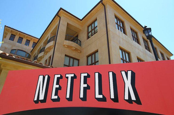 Netflix, scritta