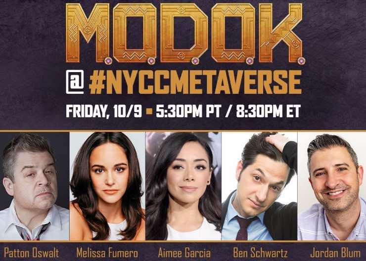 Il cast di M.O.D.O.K, Fonte: Instagram