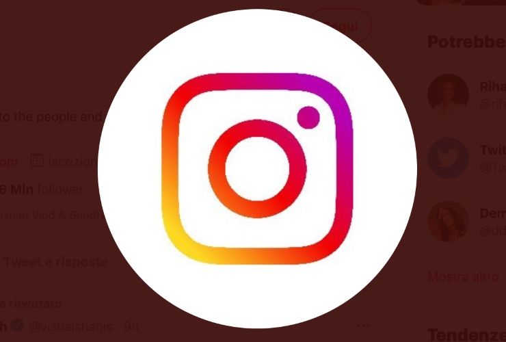 Impostazioni di Instagram, Fonte: Twitter