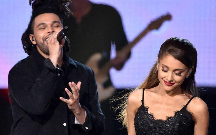 The Weeknd e la cantante Ariana Grande