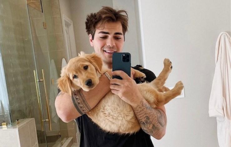 Thomas Petrou e il suo cane