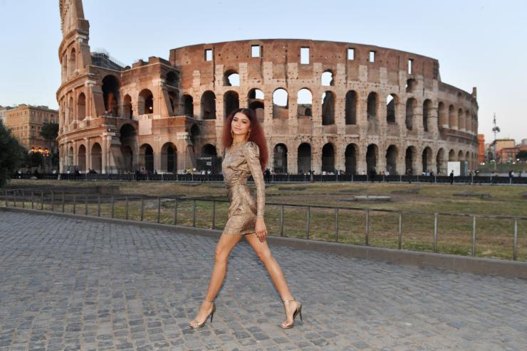 Zendaya Coleman in Italia.