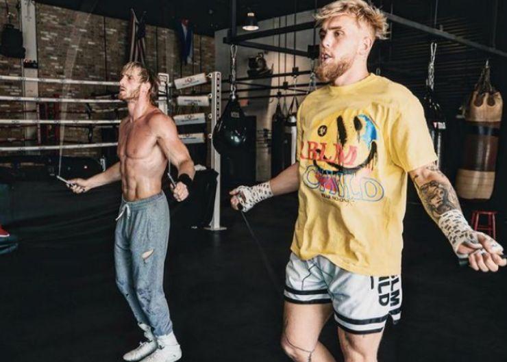 Logan Paul e il fratello Jake - fonte Instagram