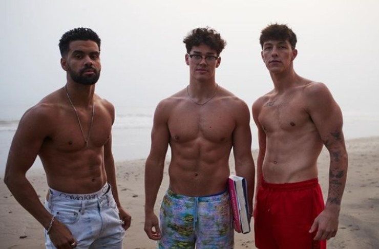 Noah Beck And Friends - fonte  Instagram