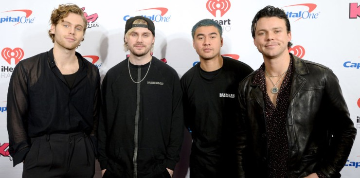 5 Seconds of Summer, boy band australiana - Fonte: Getty Images