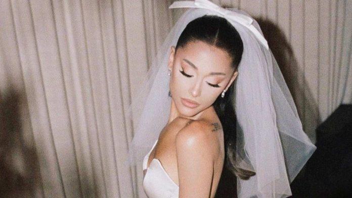 Ariana Grande abito da sposa