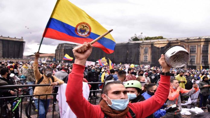 Le proteste in Colombia, Fonte: Getty Images