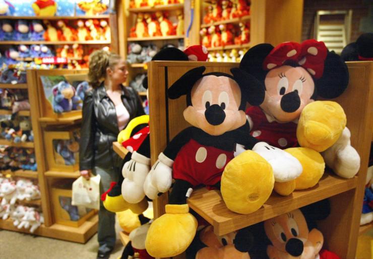 Negozi Disney chiusi