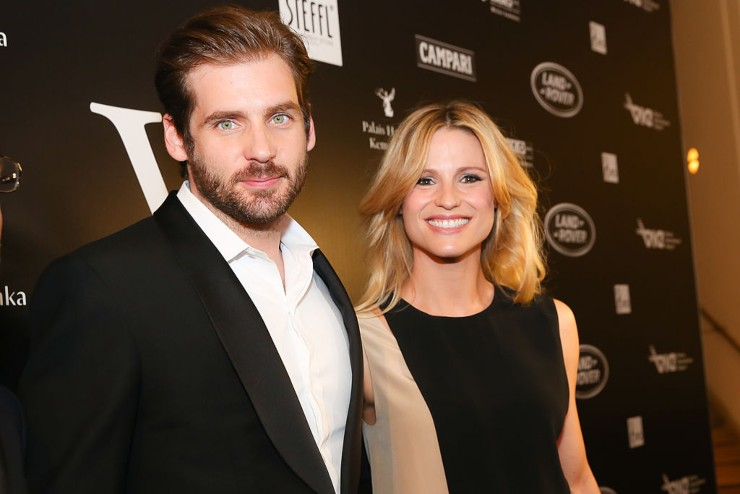 Michelle Hunziker e Tomaso Trussardi - fonte Gettyimages