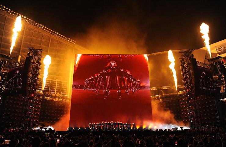 Beyoncé Show. Fonte: Getty