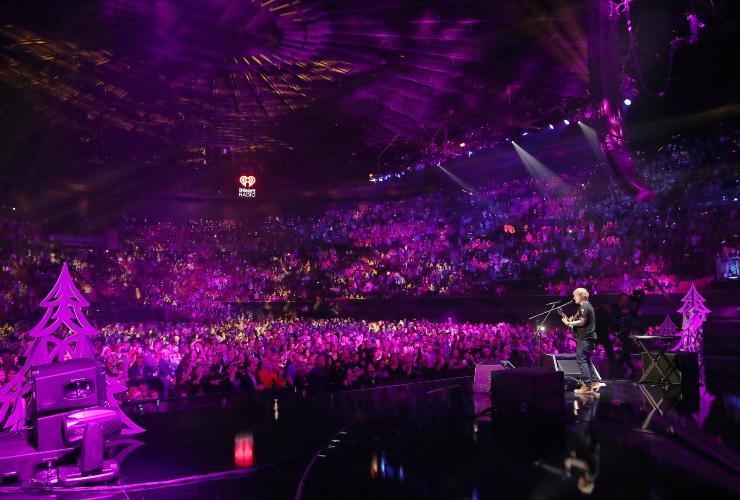 Ed Sheeran Concerto. Fonte: Getty