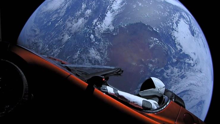 Razzo in orbita