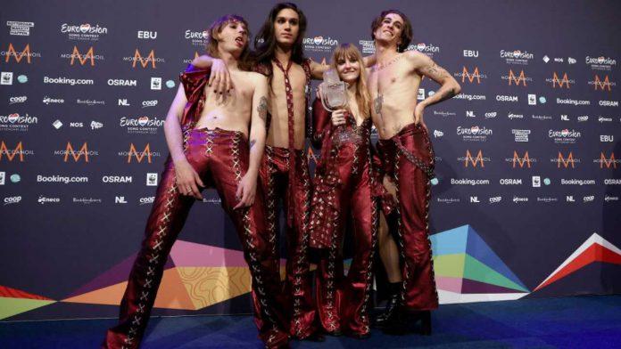 Måneskin guadagno Eurovision 2021