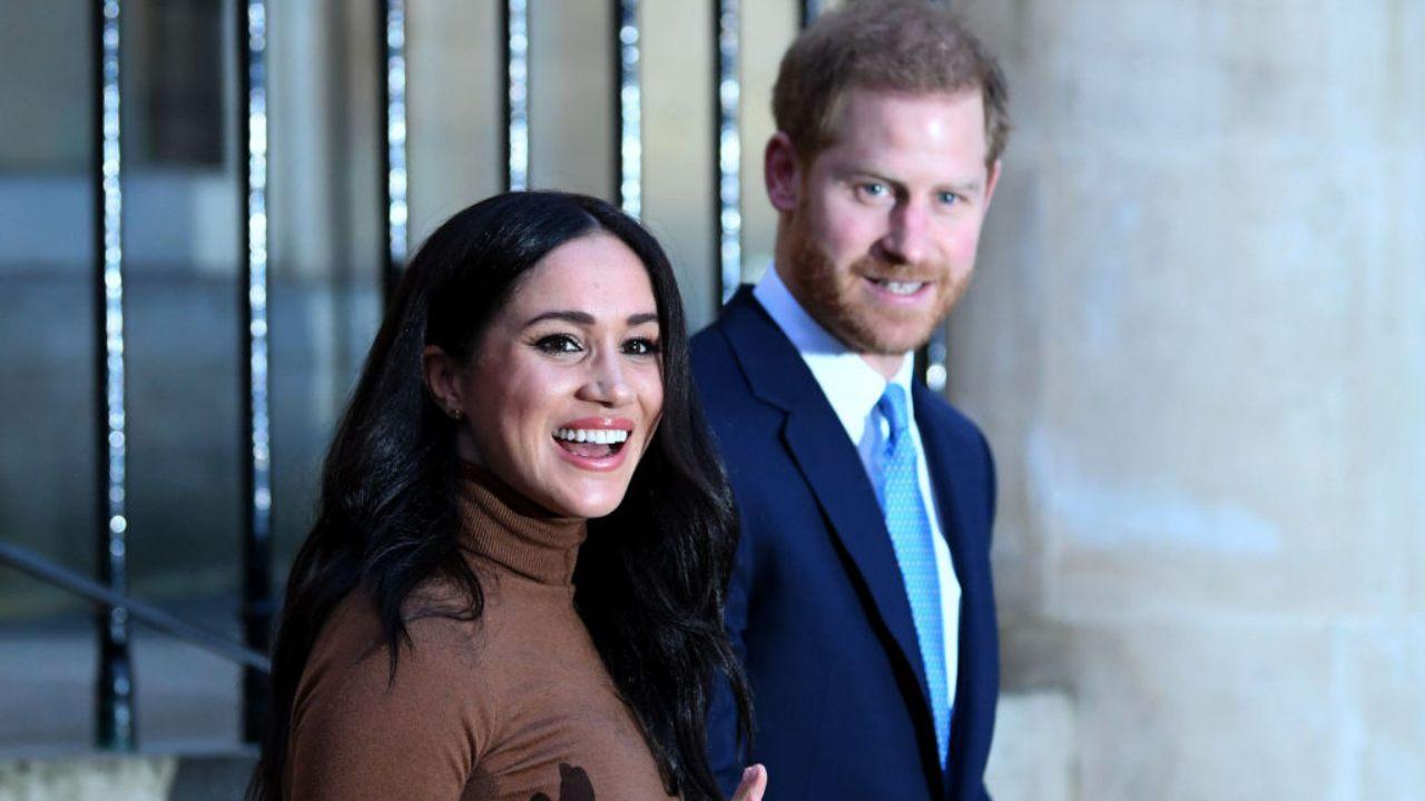 Il Principe Harry e la moglie Meghan