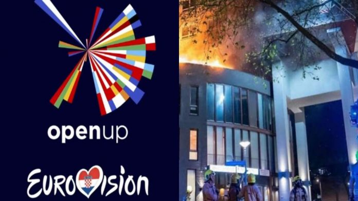 Hotel in fiamme eurovision