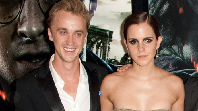 Tom Felton e Emma watson