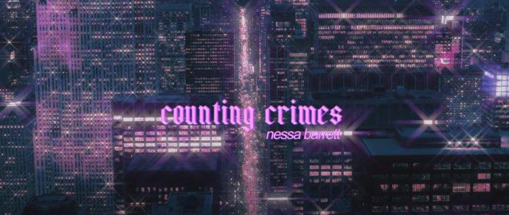 Counting Crimes testo e traduzione Nessa Barrett