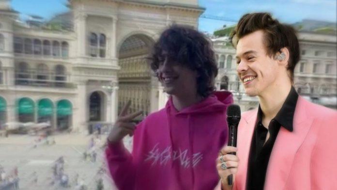 Sangiovanni e Harry styles