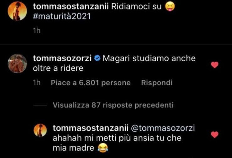Tommaso Stanzani voto