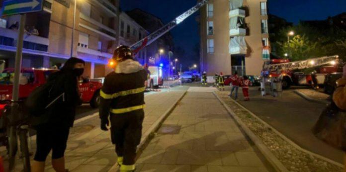incendio via castaldi milano