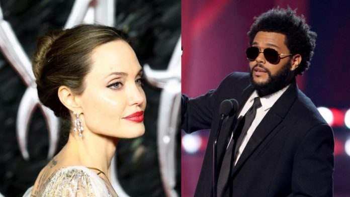 Angelina Jolie e The Weeknd