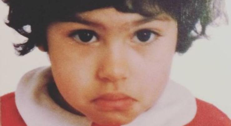 Mina El-Hammani da bambina