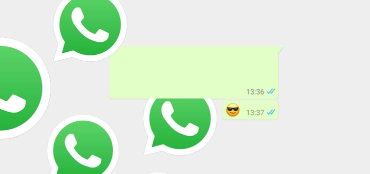 WhatsApp messaggio vuoto