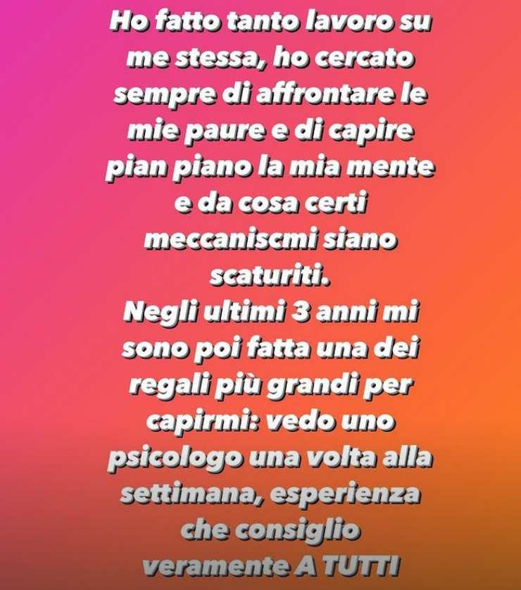 Chiara Ferragni psicologo