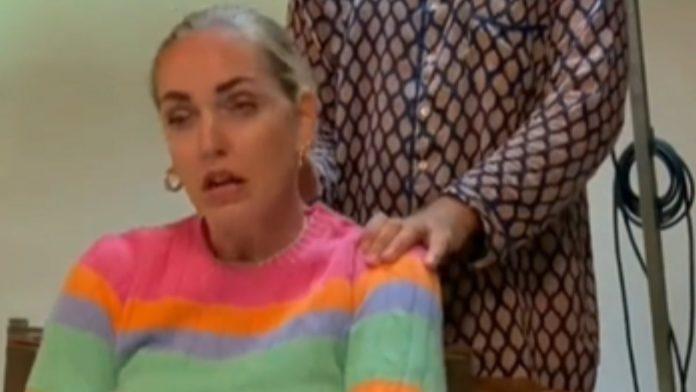 Chiara Ferragni arrabbiata