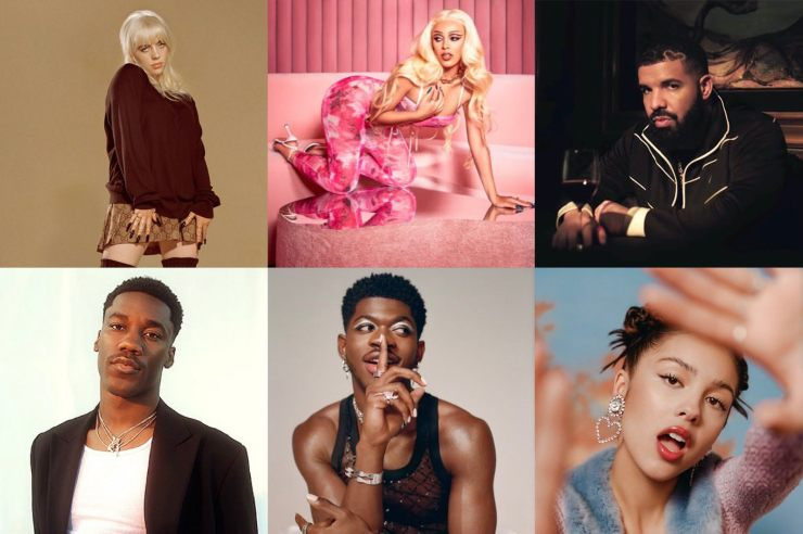 VMA's cantanti