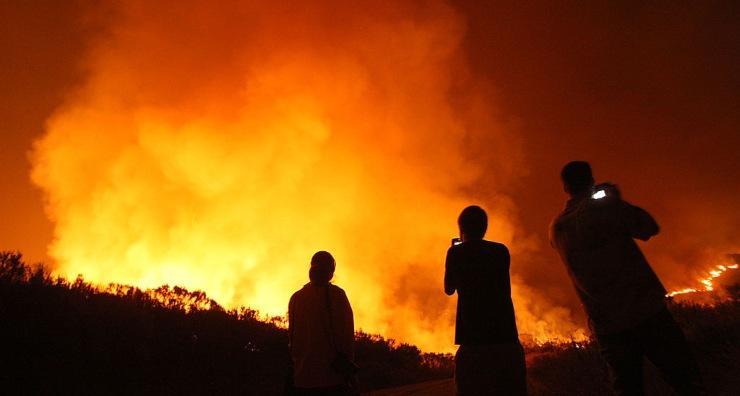 Riscaldamento globale incendi