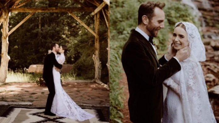 matrimonio Lily Collins
