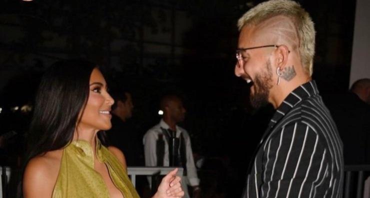 Kim Kardashian e Maluma fidanzati