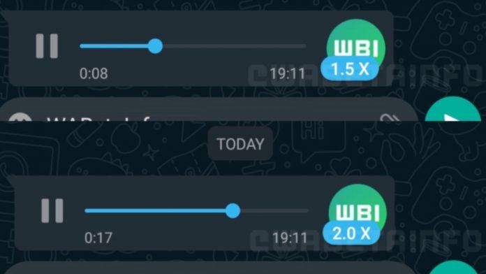 Audio whatsapp
