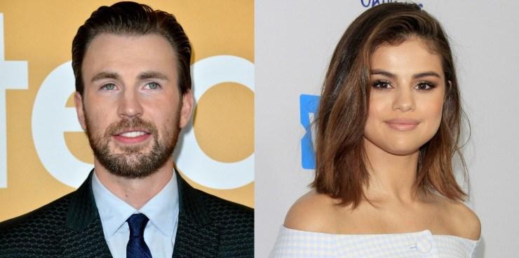 Selena Gomez e Chris Evans insieme