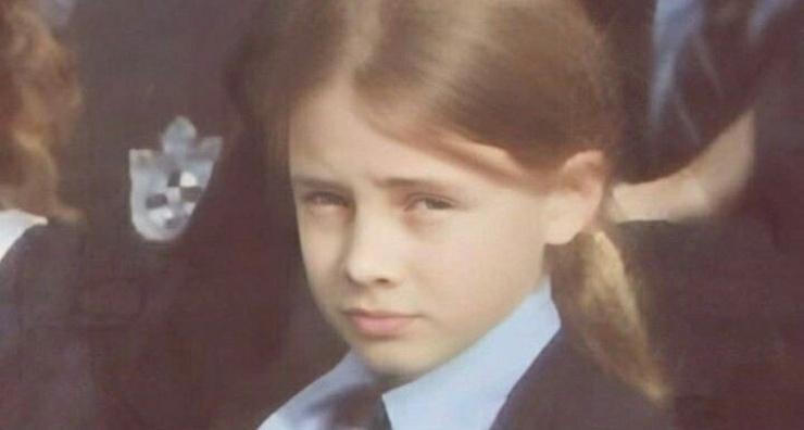 Josephine Langford da piccola
